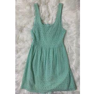 🦋mint green dress